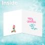 Christmas card - inside
